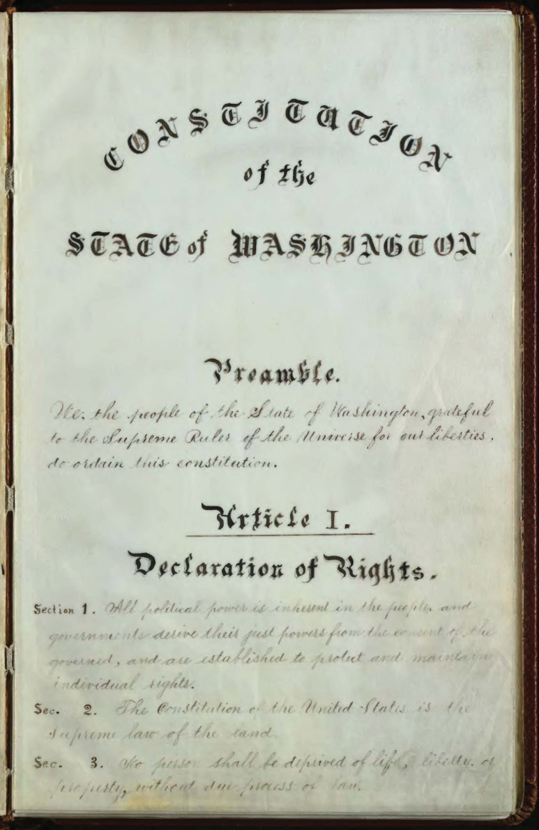 Washington_Constitution_1889_p1