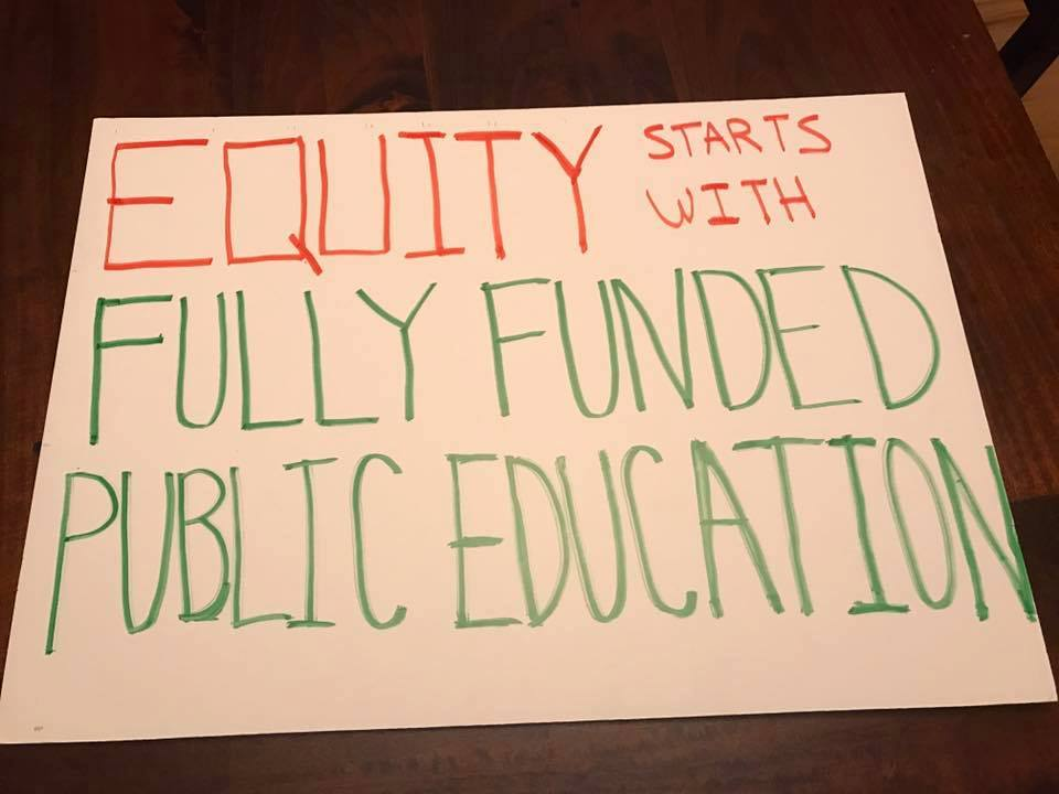 equity starts with fully funded education